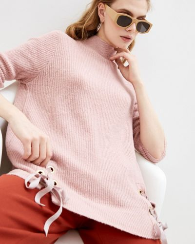 Джинсовый свитер - розовый Trussardi Jeans