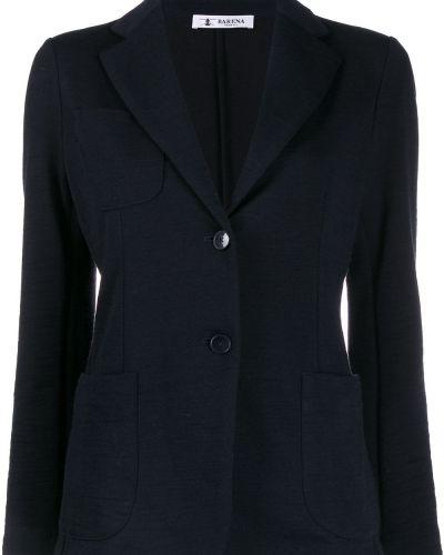 Пиджак в полоску шерстяной Barena