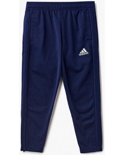 Синие брюки спортивные Adidas
