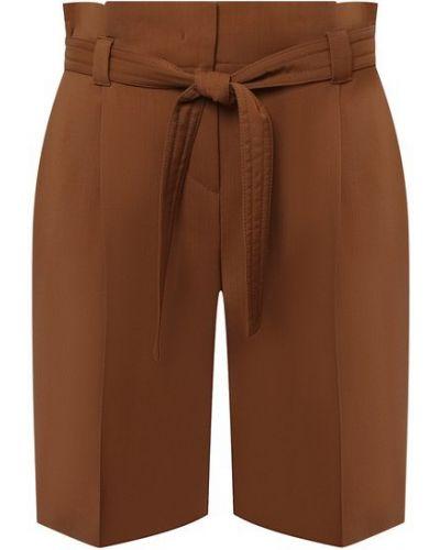 Шерстяные шорты - коричневые Windsor