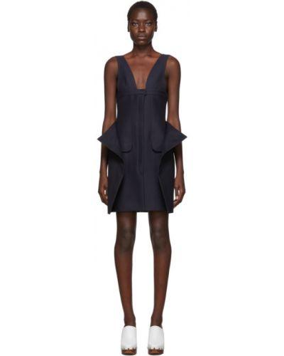 Платье на пуговицах с V-образным вырезом Jacquemus