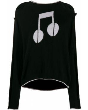 Черный свитер Preen Line