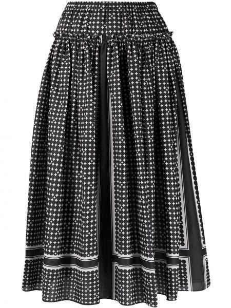 Хлопковая юбка - черная Steffen Schraut