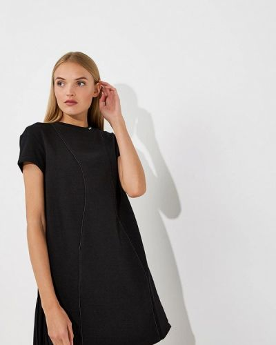 Черное платье прямое Karl Lagerfeld