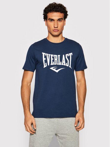 T-shirt granatowa Everlast