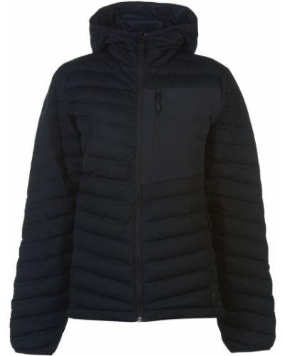 Długa kurtka z kapturem z nylonu z długimi rękawami Mountain Hardwear