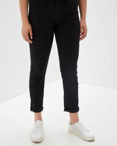 Прямые джинсы фиолетовый черные Violeta By Mango