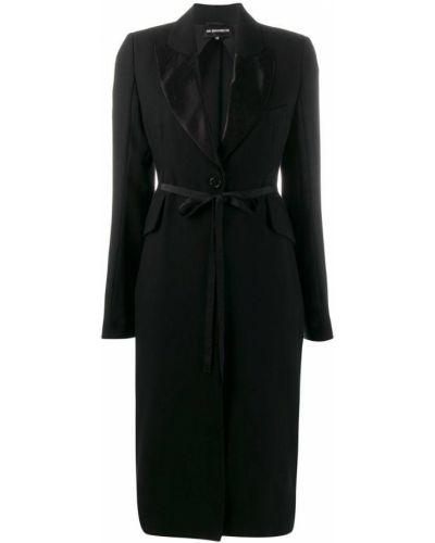 Пальто пальто черное Ann Demeulemeester