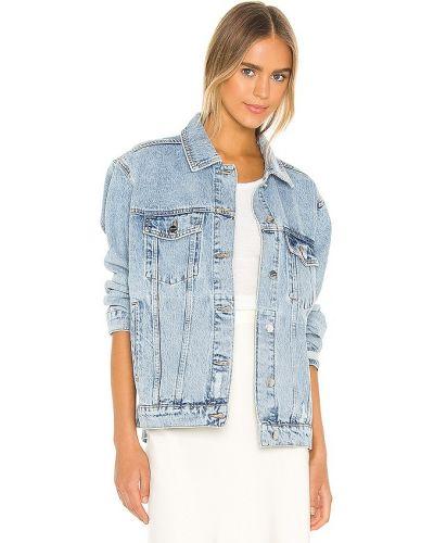 Хлопковая джинсовая куртка - синяя Anine Bing