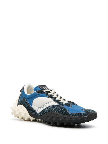 Кожаные кроссовки - синие Eytys