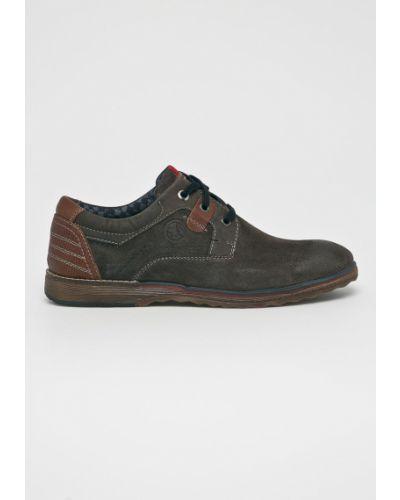 Туфли на шнуровке текстильные резиновые S.oliver