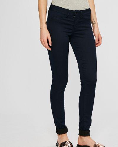 Брюки зауженные с карманами Pepe Jeans