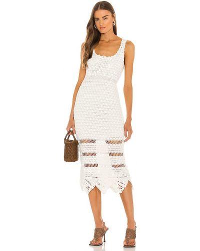 Biała sukienka Cleobella
