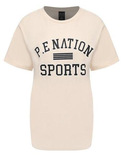 Хлопковая футболка P.e Nation