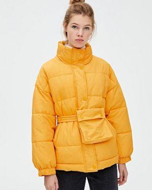 Зимняя куртка утепленная осенняя Pull&bear
