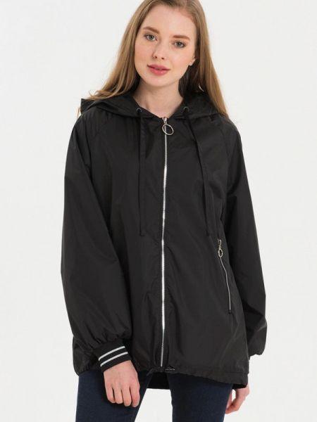 Куртка черная весенняя Lab Fashion