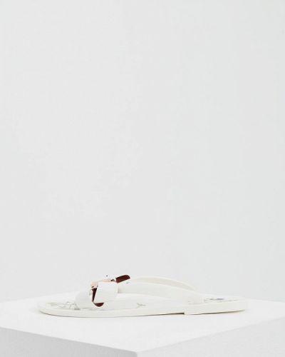 Белые сланцы Ted Baker London