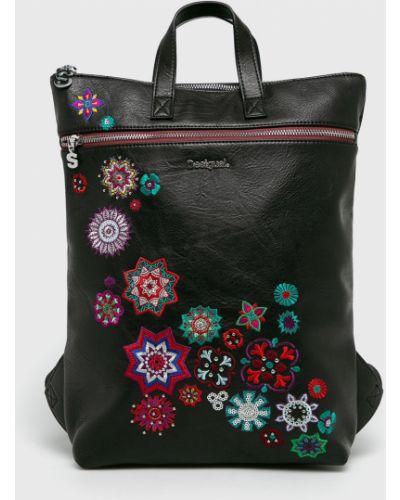 Кожаный рюкзак с вышивкой с подкладкой Desigual