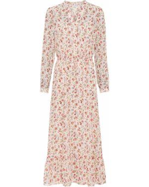 Платье макси с вырезом длинное Bonprix