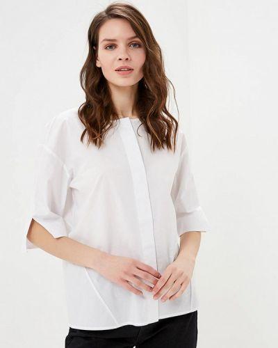 Блузка с коротким рукавом белая весенний Unq