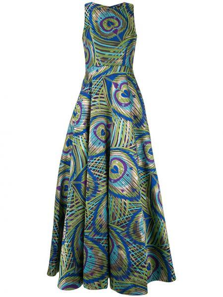Приталенное расклешенное платье Manish Arora