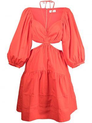 Хлопковое платье - оранжевое Nicholas
