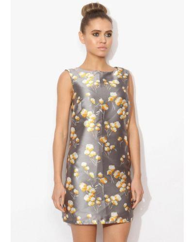 Серое платье весеннее Tutto Bene