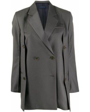 Прямой удлиненный пиджак на пуговицах Eudon Choi