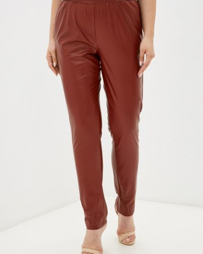 Бордовые брюки осенние Prewoman