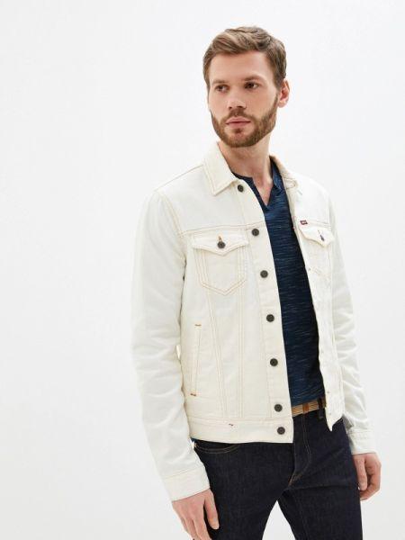 Белая джинсовая куртка прозрачная Rifle