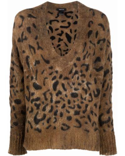 Кашемировый свитер - коричневый Avant Toi