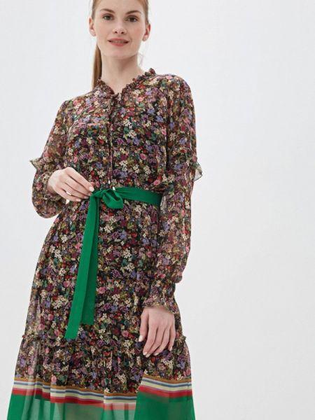 Платье осеннее прямое Sa.l.ko