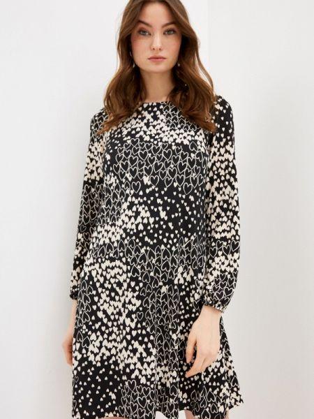 Платье прямое черное Wallis