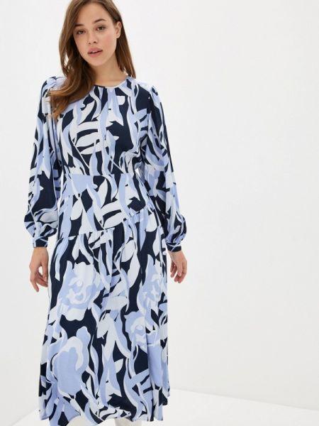 Платье прямое синее Selected Femme