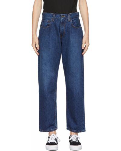 Синие джинсовые джинсы 6397
