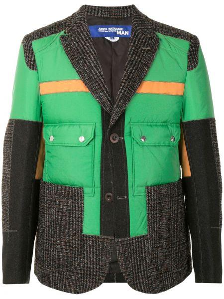 Зеленая нейлоновая куртка Junya Watanabe Man
