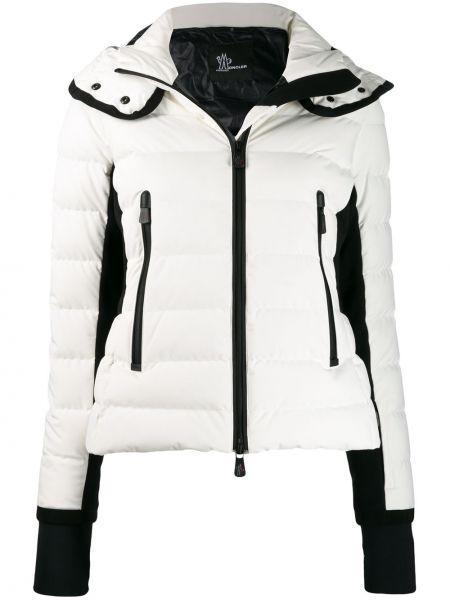 Куртка с капюшоном на молнии с карманами Moncler Grenoble