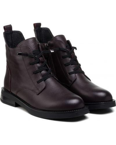 Ботинки - бордовые Meego Comfort