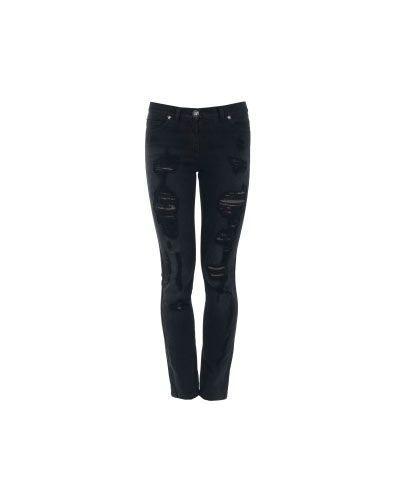 Джинсы-скинни черные синие Versace