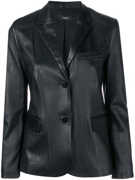 Куртка черная на пуговицах Theory