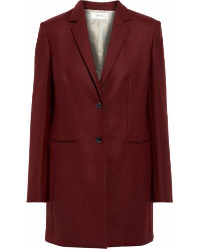 Шерстяной красный пиджак с карманами The Row