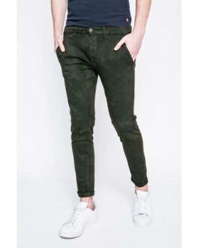 Зауженные брюки милитари с карманами Casual Friday
