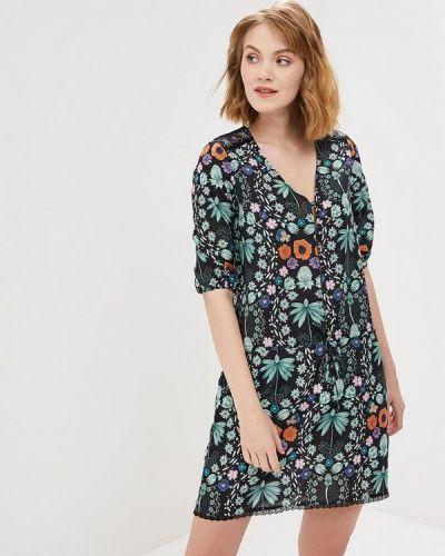 Платье зеленый Custo Barcelona