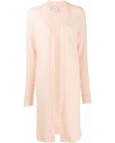 Пальто розовое шерстяное Alysi