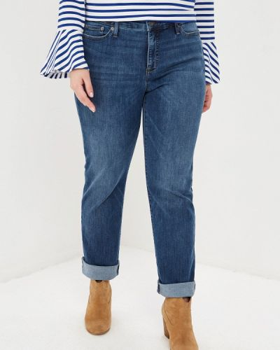 Прямые джинсы синие Lauren Ralph Lauren Woman
