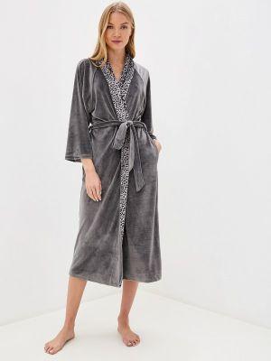 Домашний халат - серый Lelio
