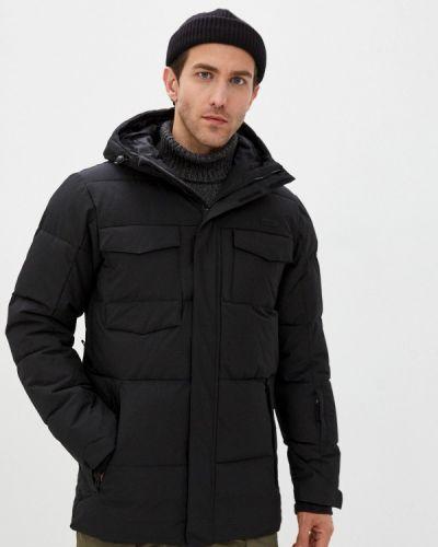Черная куртка горнолыжная сноубордическая Termit