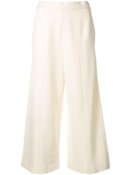 Укороченные брюки с поясом свободного кроя Anteprima