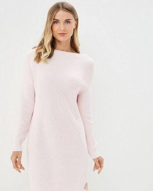 Платье розовое вязаное Marytes