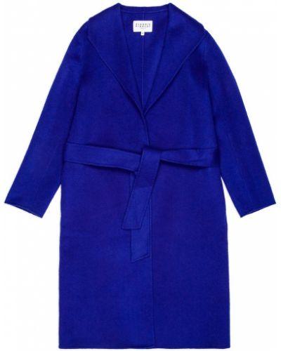 Длинное пальто пальто-халат шерстяное Claudie Pierlot